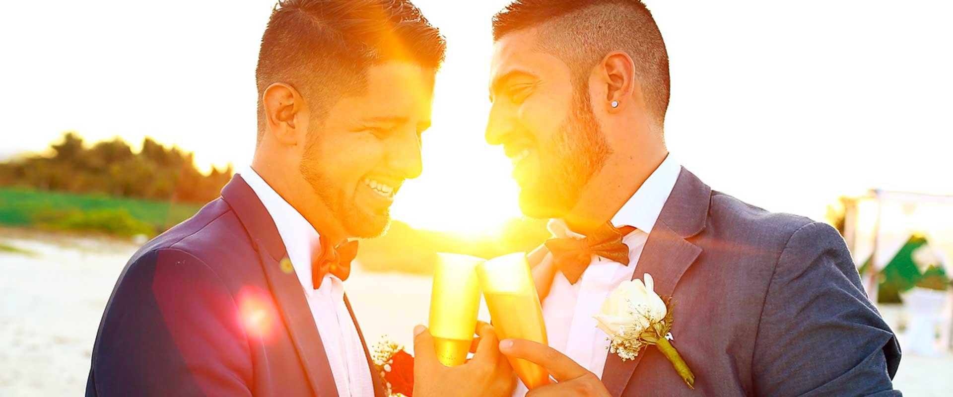 LGBT weddings riviera maya